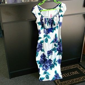 Pinup Couture Small Floral Dress